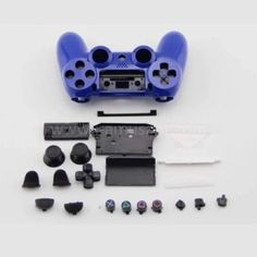 Full Set Housing Shell Protective Case Cover With Button Key Kit Replacement Parts for PS 4 Wireless Controller Protective Cases, Video Games, Full Set, Shell, Key, Button, Cover, Charger, Unique Key