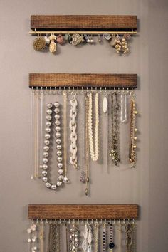 Jewerly organizer | DIY |home decor | home organization | clever organization