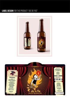 Zburatorul, Craft Beer Branding & Package Design on Behance Label Design, Package Design, Graphic Design, Craft Beer Brands, Brand Packaging, Whiskey Bottle, Behance, Branding, Crafts