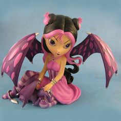 The Bradford Exchange Jasmine Becket-Griffith Fae Fairy - Dragonling Companions Collection Dragon Figurines, Fairy Figurines, Collectible Figurines, Dracula, Reaper Drawing, Fairy Templates, Fairy Pictures, Fairy Clothes, Gothic Fairy