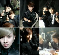 ZE:A's personalities shine through backstage photos from their concert