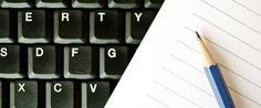 .: Você ainda escreve com letra de mão? Ou só digita?...