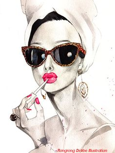 Audrey Hepburn portrait Audrey Hepburn por RongrongIllustration, $10.00