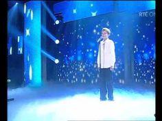 Daniel Furlong on the All Ireland Talent Show final 2011