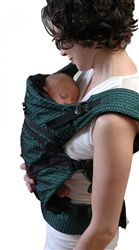 Multi 2.0 Carrier (Fantasia) from Chimparoo. Made from hi-tech material. #breathable #chimparoo #babycarrier