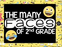 Emoji Bulletin Board Accent Pieces - Editable Classroom Decor