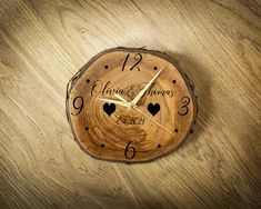 Our wooden clocks are completely handmade from natural supply of recycled wood, and passionately handcrafted by us in the family workshop; meaning each clock is completely unique. The perfect feature for any wall in your house! Plus, they are also a great house warming gift! Our clocks come ready to hang on the wall, and the hands flow continuously without making a sound so you won't have to worry about that ticking noise! Our personalisation options mean you can make this clock extra special What Sells On Etsy, Sell On Etsy, Etsy Handmade, Handmade Crafts, Wooden Clock, Personalised Gifts, Recycled Wood, Etsy Jewelry