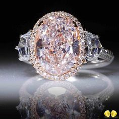 Novel Collection pink diamonds and their captivating beauty, for instance this fancy light pink diamond ring. Pink Jewelry, Cute Jewelry, Diamond Jewelry, Wedding Jewelry, Wedding Rings, Colored Diamonds, Pink Diamonds, Jewelers Near Me, Pink Diamond Ring