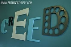 Wooden Letters using MDF