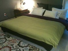 King Sized Hailey Platform Bed | Do It Yourself Home Projects from Ana White