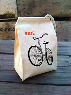 perfect for bike-loving vegetarians like me ^-^  http://www.etsy.com/listing/87352795/eco-lunch-sack-with-ride-a-bike-bicycle?ref=tre-2508843473-12