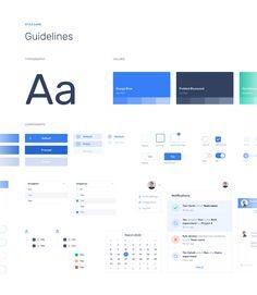 Data Pipeline App on Behance Web Design Mobile, Site Web Design, App Design, Flat Design, Web Style Guide, Style Guides, Website Style Guide, Ui Website, Ui System