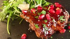 Pomegranate Glazed Chicken Thighs Recipe | The Chew - ABC.com