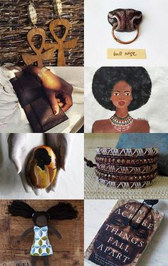 Afro by Tatin on Etsy: brown color gift ideas