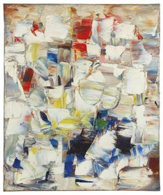 Marcelle Ferron Untitled oil on canvas, x cm. Via Sotheby's. Marcelle Ferron, Rose Wylie, Abstract Art Images, Painting Abstract, Canadian Artists, Art Club, Abstract Expressionism, Modern Art, Art Projects