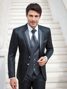 Lo sposo Mens Fashion Suits, Mens Suits, Mode Outfits, Fashion Outfits, Casual Summer Outfits, Mens Clothing Styles, Wedding Suits, Costume, Marie