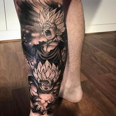 "4,991 Me gusta, 45 comentarios - GAMERINK #1 in Gaming Tattoos (@gamer.ink) en Instagram: ""Goku and Gohan tattoo done by @dointats_bj. To submit your work use the tag #gamerink And don't…"""