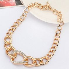 European Style Classic Alloy Statement Necklace – SEK Kr. 124