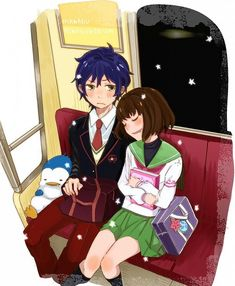 Tags: Pixiv Id Mawaru Penguindrum, Takakura Shouma, Penguin Oginome Ringo Azumanga Daioh, Anime Films, Fan Art, Cosplay, Image Boards, Me Me Me Anime, Anime Couples, Penguins, Fun Facts