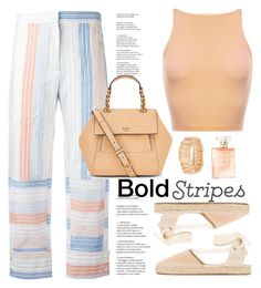 """Untitled #733"" by jovana-p-com ❤ liked on Polyvore featuring STELLA McCARTNEY, Soludos, Bold Elements, Tory Burch and bold"