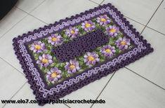 a href='/tag/croche' a href='/tag/crochetando' a href='/tag/crochet' a href='/tag/crocheting' a href='/tag/crochetaddict' a href='/tag/instacrochet' Crochet Rug Patterns, Doily Patterns, Crochet Motif, Crochet Doilies, Crochet Flowers, Knit Crochet, Wiggly Crochet, Crochet Snail, Thread Crochet