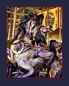 Como Park Carousel in St Paul, Minnesota