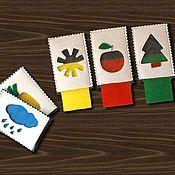 Куклы и игрушки ручной работы. Ярмарка Мастеров - ручная работа Развивающая игра Учим цвета. Handmade.