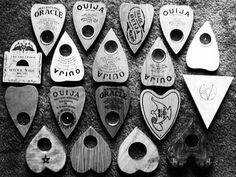 Ouija planchettes (a premonition of Ouija planchettes)