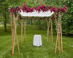 huppa decorations | Our Jecular Wedding: A Chuppah to Call Our Own : wedding decor long ...