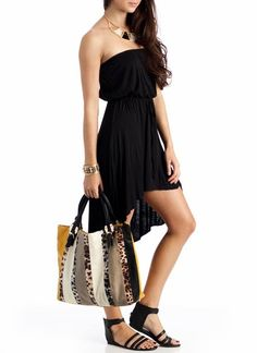The perfect tube dress for vacationing fashionistas!