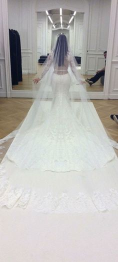 Kim's Givenchy Wedding Gown