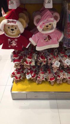 Disneyland Hong Kong Duffy The Disney Bear and Shellie May Merchandise. Disney Christmas, Christmas Tree, Duffy The Disney Bear, Heart For Kids, 4th Of July Wreath, Hong Kong, Disneyland, Merry, Teddy Bear