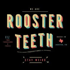 RT We Are Rooster Teeth Shirt   Rooster Teeth Store