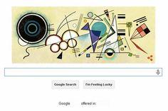 WASSILY KANDINSKY, un faimos pictor rus, pionier al expresionismului abstract, celebrat de Google