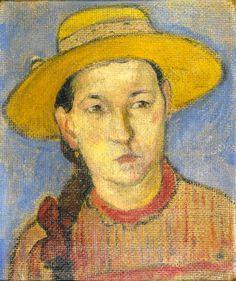 Paul Gauguin (French; 1848-1903) - Jeune Créole, 1891.
