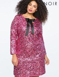 NOIR Jolie Dress from eloquii.com #PlusSizeDresses