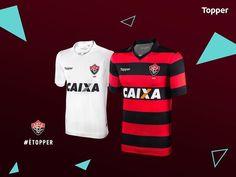 Camisas do EC Vitória 2017-2018 Topper