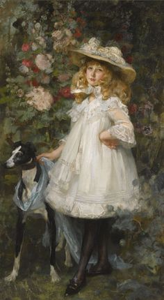 James Jebusa Shannon - Portrait of a Girl