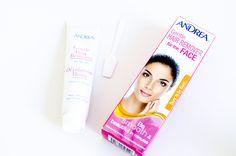Andrea ♥ Hair Removal Cream For The Face http://beautyboulevard.se/category/recensioner/hud-recensioner/ Hårborttagning Ansikte Hårborttagningskräm Hårborttagning Kräm Cruelty Free Skönhetsblogg Skönhetsmagasin