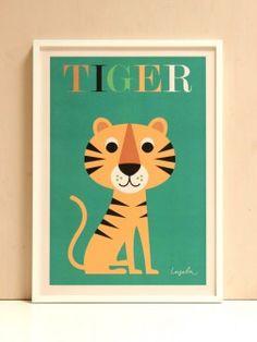 Lion Poster Ingela P Arrhenius OMM Design
