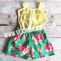 Our Summer Fun Romper is sweet