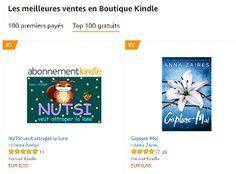 NUTSI est numéro 1 du top gratuit Amazon kindle !!...