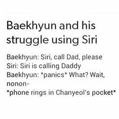 Baekhyun ♡ Chanyeol