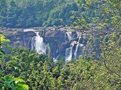 Athirapilly Waterfalls (Kerala, India) by Jinu Martin (Busy), via Flickr