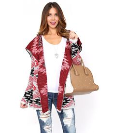 Life's too short to wear boring clothes. Hot trends. Fresh fashion. Great prices. Styles For Less....Price - $26.99-Rg4UsXcb My Style Bags, Wrap Sweater, Winter Is Coming, Cool Things To Buy, Autumn Fashion, Kimono Top, 3 Balls, Shorts, Best Deals