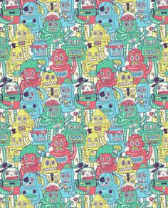Patterns by Alejandro Giraldo, via Behance