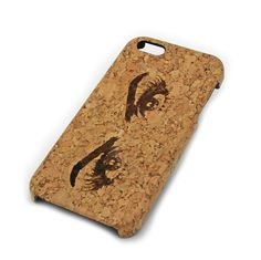 Beautiful Eyes Cork Case Snap On Cover