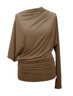 Free pattern for The Draped Square top