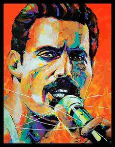 Freddie Mercury, La Pieta, Simone Veil, Mona Lisa, Dalida, Marianne, Portraits, Painting, Fictional Characters