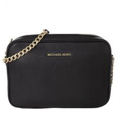 Michael Kors Tasche – Bedford LG EW Crossbody Leather Black – in schwarz – Umhängetasche für Damen